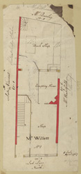 [Plan of property in Lad Lane] 170-A